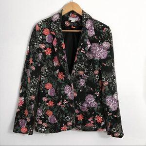 Cotton On floral blazer/ jacket, size medium